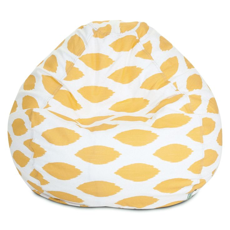 Yellow Alli Small Classic Bean Bag
