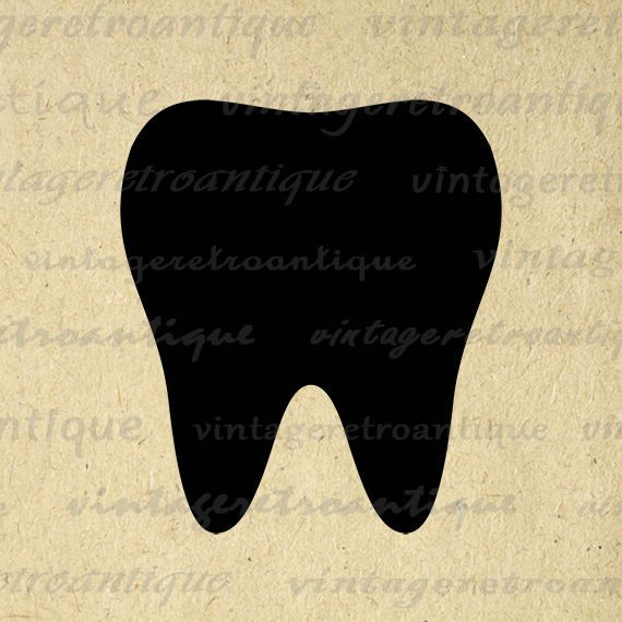 Printable Image Tooth Download Tooth Icon Graphic Dental Dentist Toothcare Digital Antique Clip Art Jpg Png Eps 18x18 HQ 300dpi No.4409 @ vintageretroantique.etsy.com #DigitalArt #Printable #Art #VintageRetroAntique #Digital #Clipart #Download