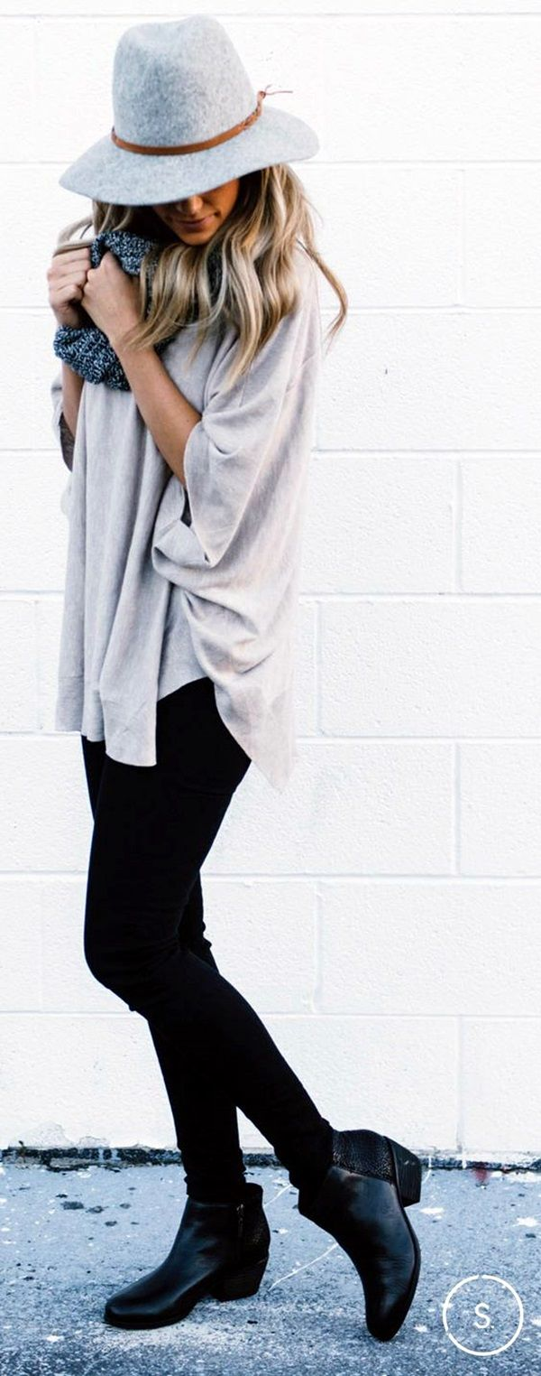 Wear Ankle Boots With Jeans Fashionably (45 Chic Ways)