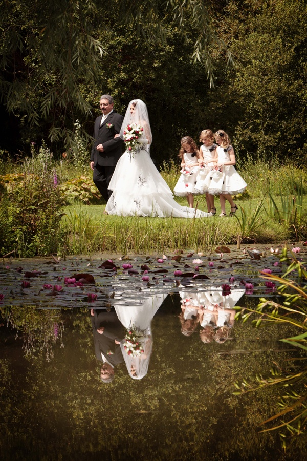 Andy Delphine S Doentary Wedding Photography At Bennetts Water Gardens Weymouth