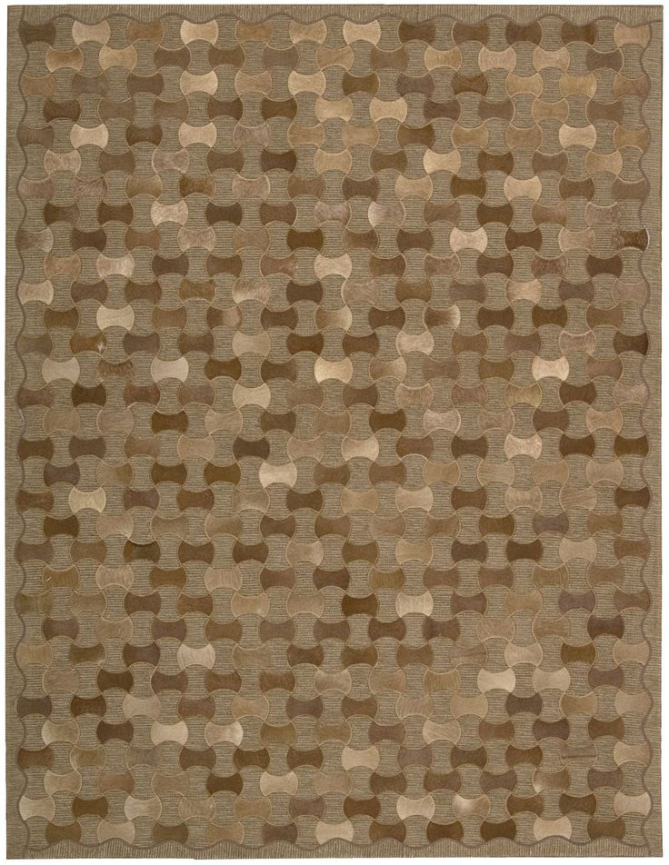 Joseph Abboud Chicago Brown Area Rug By Nourison CHI01 BRN (Rectangle)
