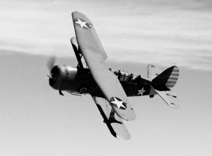 Curtiss SBC-4 Helldiver USMC SBC-4 Helldiver in flight (1942) 257 SBC-4's were built between it's introduction in 1938 & retirement in 1943 (US ...