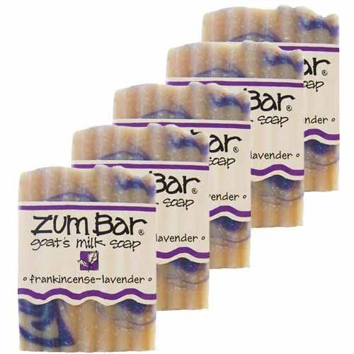 Frankincense And Lavender Zum Bars Multipack (5 Count)by Indigo Wild by Indigo Wild. Save 13 Off!. $24.99. Save money by purchasing this five-pack of your favorite Zum bars!This unlikely combination of scents creates magic in the shower. A must try for the adventurous soap enthusiast.Pack of 5Weight: total 15 oz. (five Zum bars at 3 oz. each)Indigo Wild is famous for its Zum Bar, a goat's milk based soap. Indigo Wild chooses goat's milk because it is naturally homogenized an...