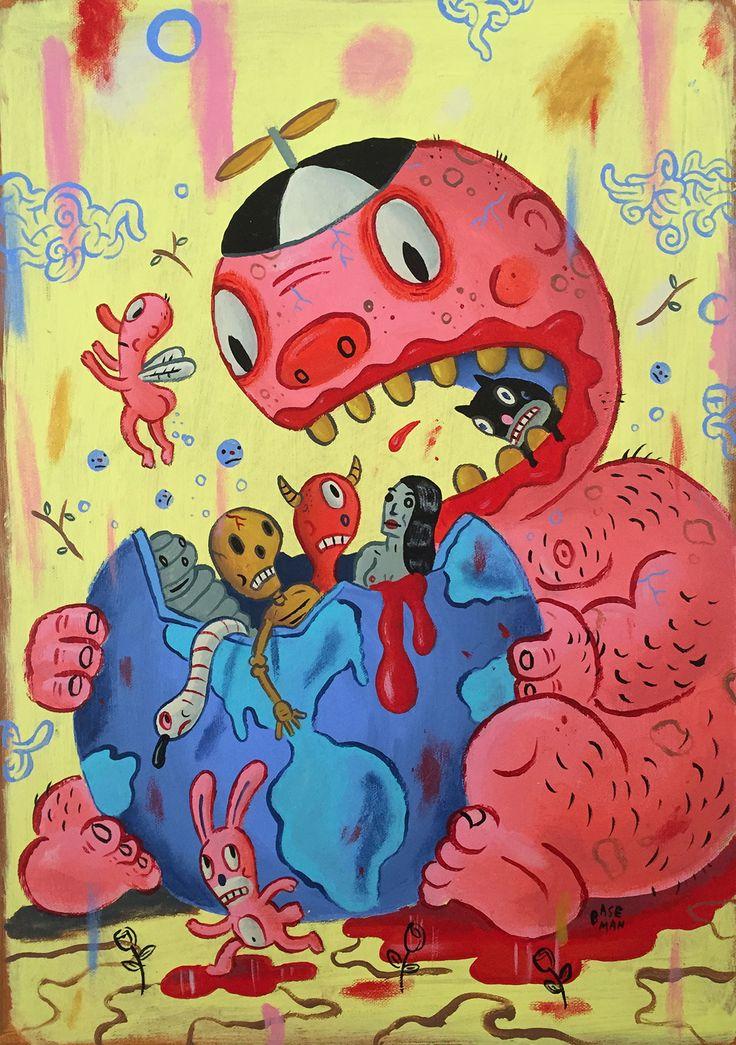 Jimmy Eat World by Gary Baseman