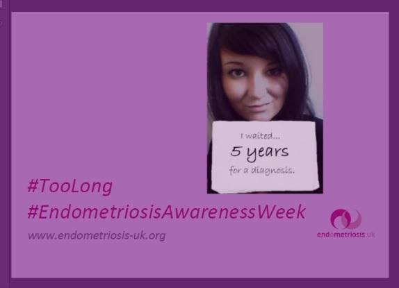 It still takes an average of 7.5 years to get a diagnosis of endometriosis. During this time those with severe endometriosis live with increasing and debilitating pain and spread of the disease.  7.5 years is far too long for any woman to suffer and Endometriosis UK aim to change that.
