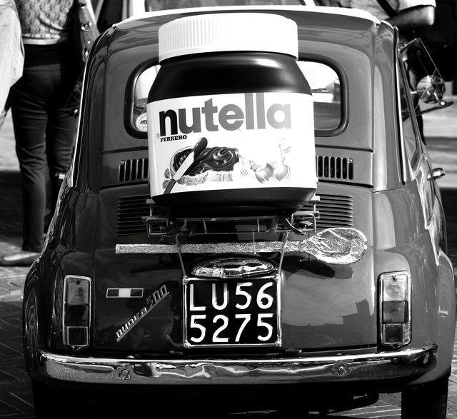 Fiat 500 / Nutella www.caduferra.it