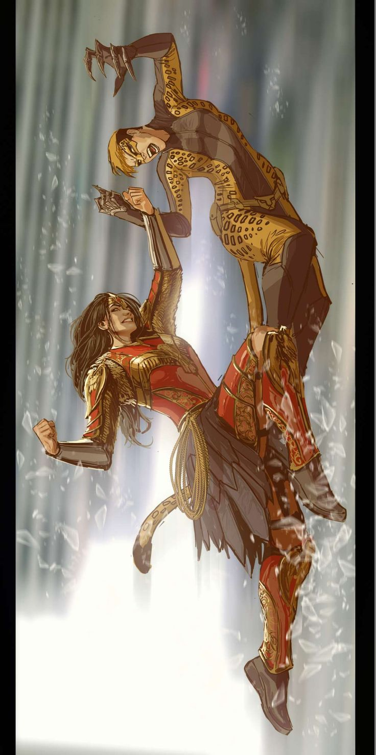 dtk-womenwarriors: ART BY STEPAN SEJIC aka Nebezial ~ UPDATEThis post is an update, and is not posted along with the rest of this artist's galleries. Click on the Stepan Sejic tag below to see other work by this artist. I've never seen this version of Cheetah but I really like it-Diego