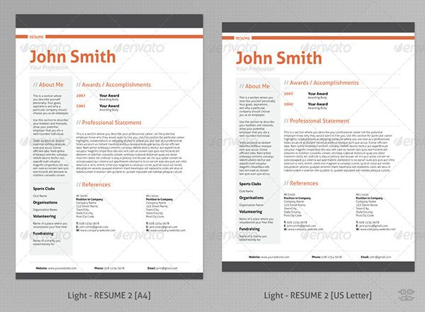 22 best Print Design images on Pinterest Print design, Print - free resume form to print