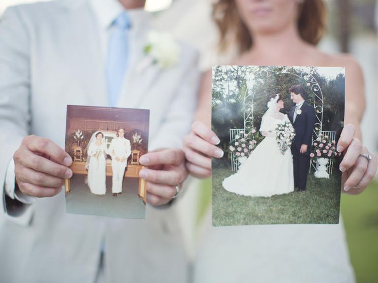 Gift for Parents – have a vintage photo of them on their day framed as thanks. Pick a photo of their first dance or one as they're exiting the reception or even a pretty posed shot of them in their wedding attire.