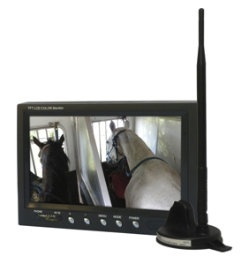 Trailer eyes b2-coolest idea EVER-watch your horses while your hauling!