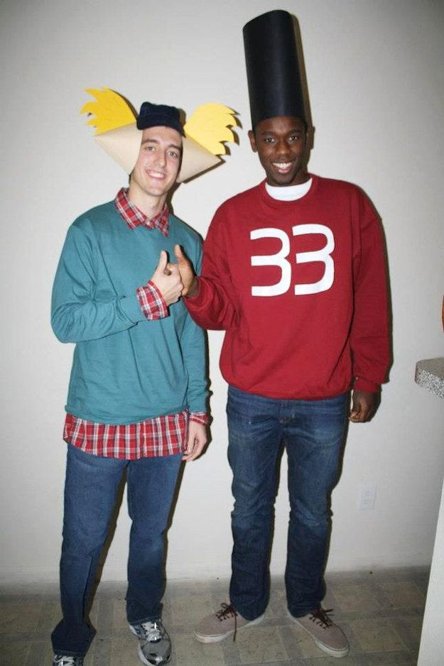arnold and gerald from hey arnold best friend halloween costumeshalloween - Good Guys Halloween Costumes
