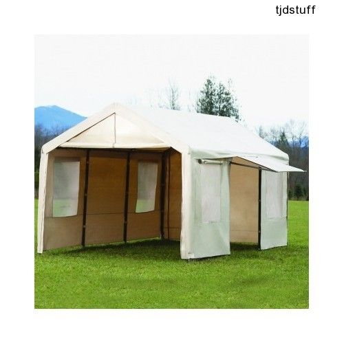 10ft x 20ft Heavy Duty Portable Garage Shelter Cover ...