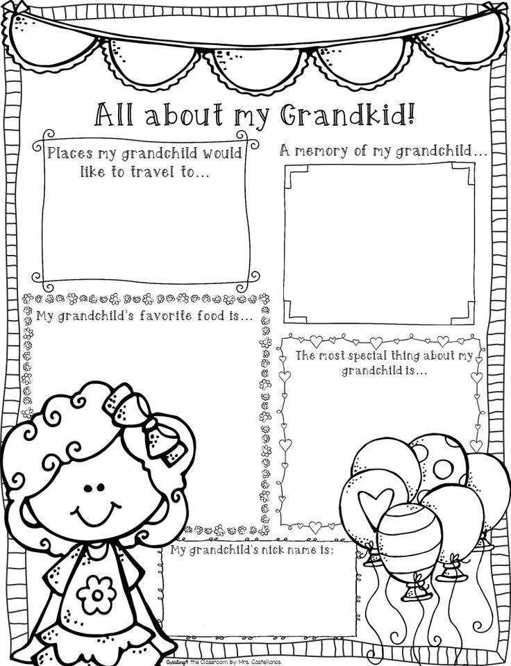 25+ unique Grandparents day poem ideas on Pinterest