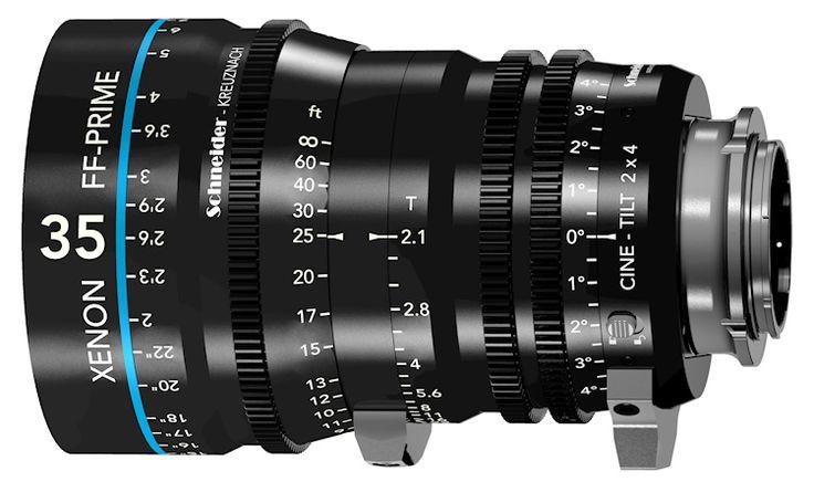 Schneider-Kreuznach bringt neue Xenon FF-Prime Cine-Tilt Objektive | fotointern.ch - Fotografie Nachrichten