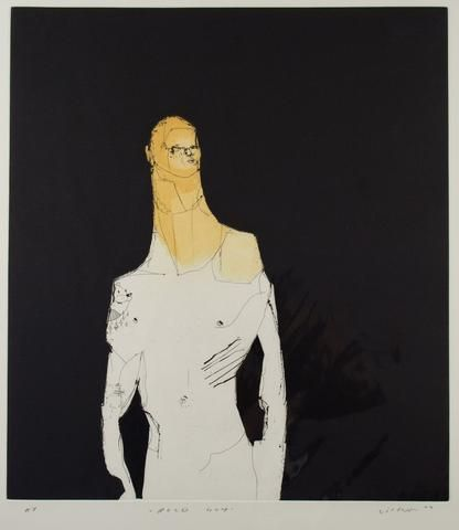 Anthony Lister 'Bold Guy' - Etching acquatint