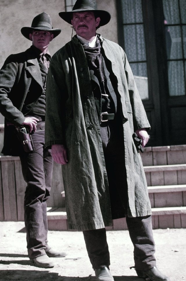 Wyatt Earp (with Kevin Costner)...Can't  count how many times I have seen this movie...one of my faves!