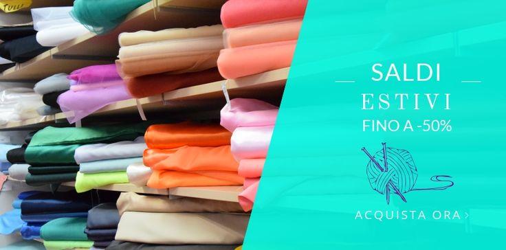 Panini Tessuti e Tendaggi sconti online su tantissimi articoli! Tutti i prodotti scontati al link: https://www.tessutietendaggipanini.it/saldi.html