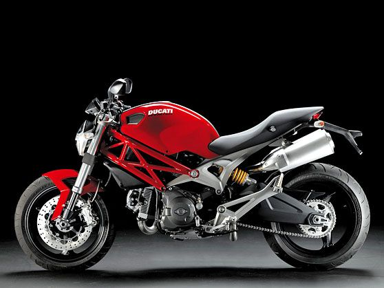 Ducati Monster 696 - My other ride.