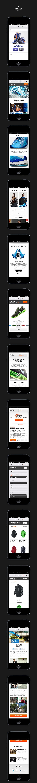 http://www.behance.net/gallery/Nikecom-Mobile/9129601
