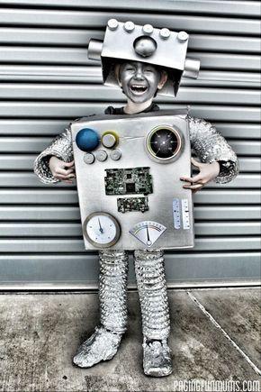 best 25 robot costumes ideas on pinterest robot costume diy robot costume kids and robot. Black Bedroom Furniture Sets. Home Design Ideas