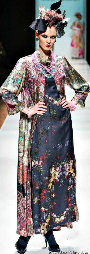Russian designer SLAVA ZAITSEV