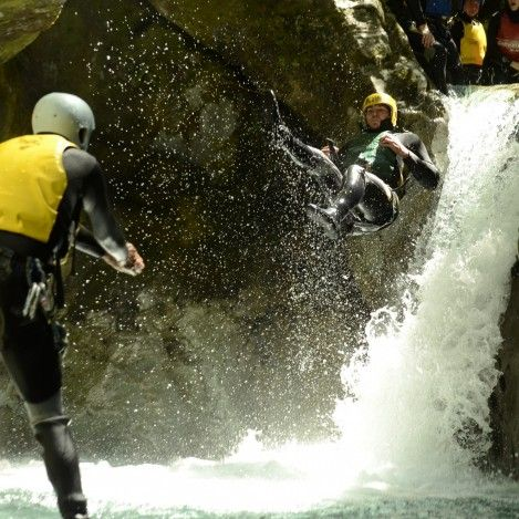 Canyoning is a brilliant water activity for the adventurous traveller.