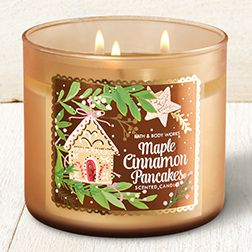 Maple Cinnamon Pancakes 3-Wick Candle - Home Fragrance 1037181 - Bath & Body Works