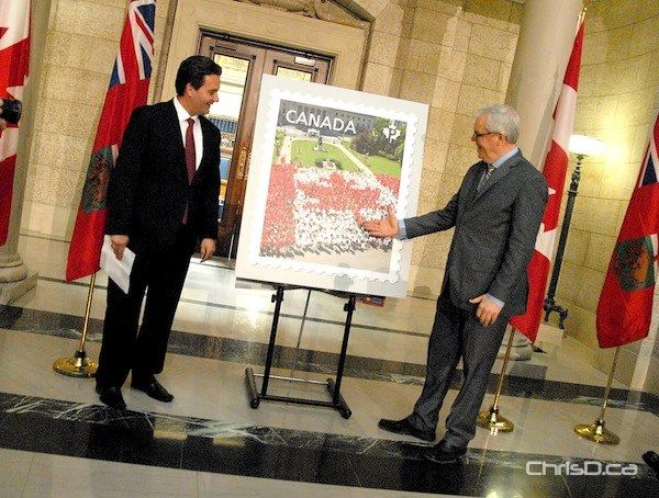 Canada Post Unveils 'Living Flag' Stamp | ChrisD.ca