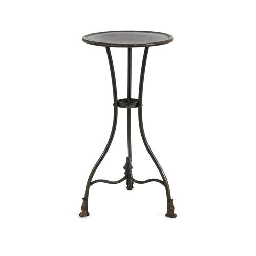 Cliffton Small Metal Accent Table