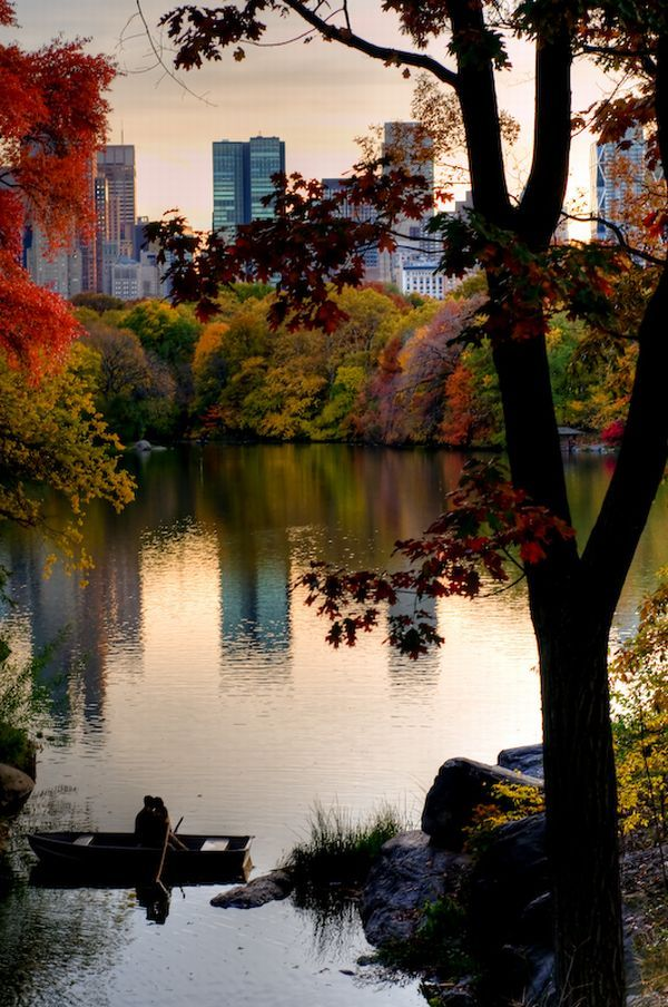 Autumn in New YorkCentralpark, New York Cities, Autumn Fall, Wonder World, Central Parks, Places, Nyc, Newyork, Romantic Evening