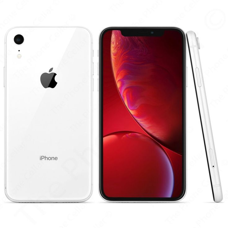 Apple iphone xr 64gb white sprint locked a1984 cdma