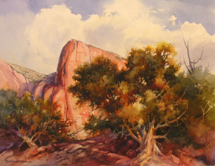 Roland Lee Travel Sketchbook: August 2007