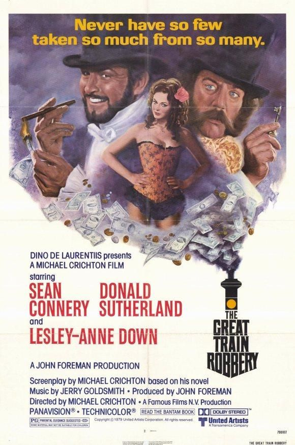 The Great Train Robbery (1978) - Sean Connery DVD