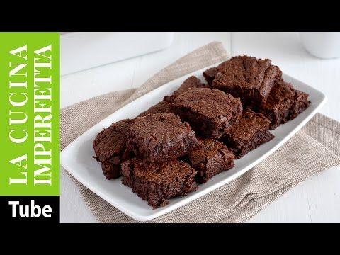 Brownies al cioccolato fondente | Le Ricette de La Cucina Imperfetta