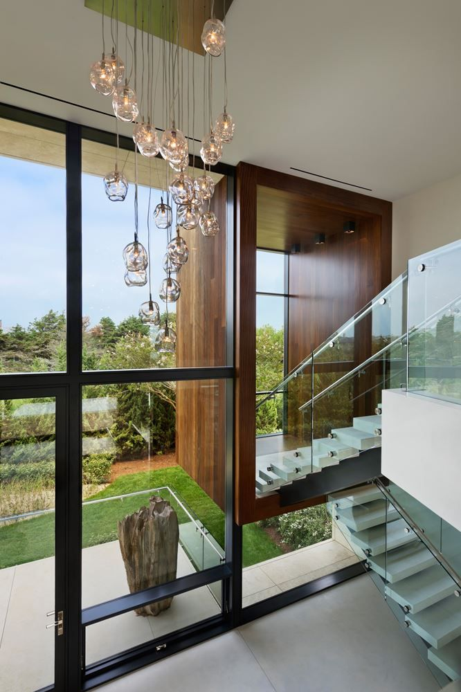 Best Glass Railing Images On Pinterest Stairs Glass Railing