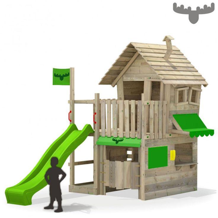 Speeltoestel CountryCow Maxi XXL, Fatmoose Speelhuis met winkel en garage