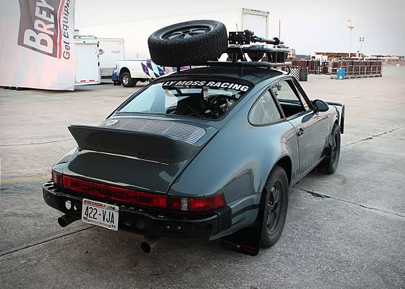An off-road Porsche! We love this, partially because its just cool looking and partially because it drives automotive purists up the wall. This spectacular 1986 Porsche 911 was transformed into an off-roading beast by famed Wisconsin racecar builder
