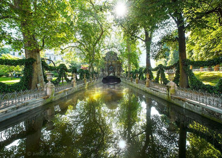 Fountain Médicis (Luxembourg garden in Paris) by David Duchens on 500px