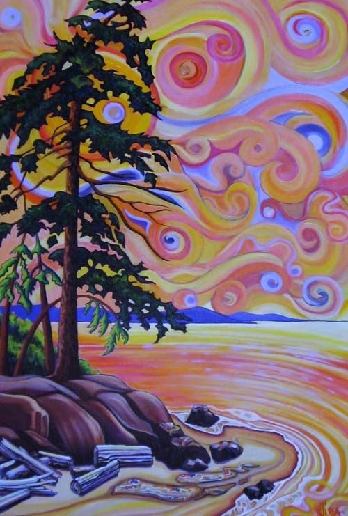 Elissa Anthony, Artist, The Old School House Arts Centre, Qualicum Beach, British Columbia, Canada.