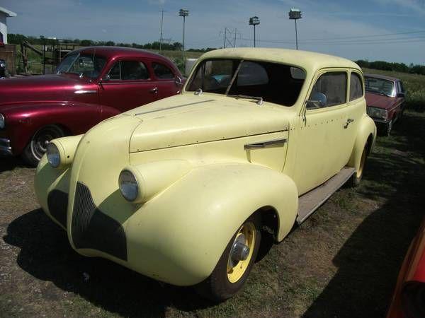 1939 Buick 2 Door Sedan Ratrods Pinterest