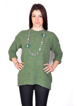 Maglione verde in lana https://www.fashionbrasil.it/abbigliamento-donna/magione-in-lana-color-verde.html