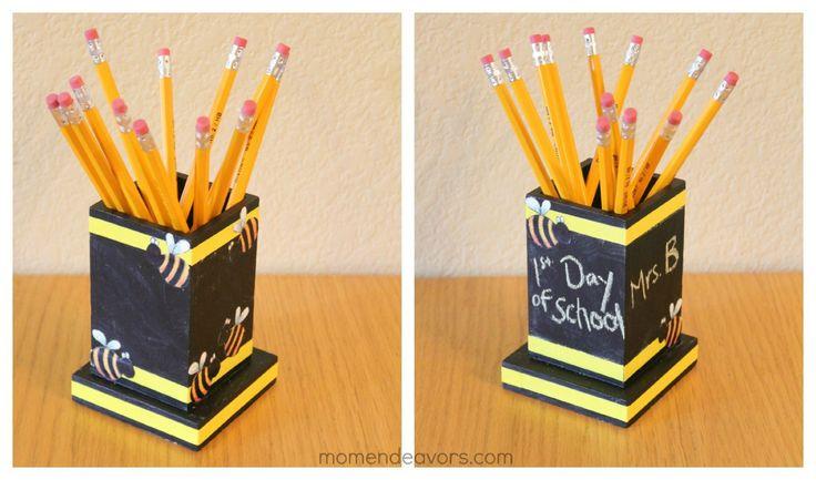 Teacher Pencil Holder