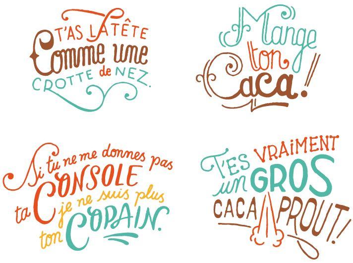travail typographique steven burke