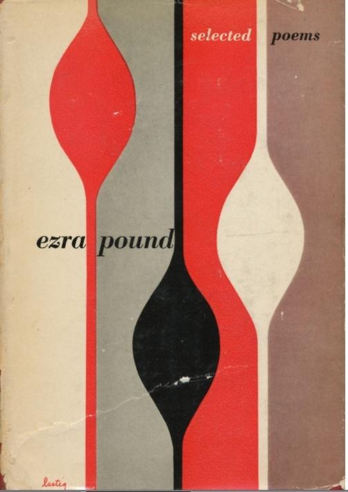 Esra Pound book cover by Alvin Lustig