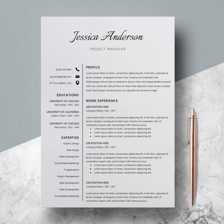 44 best Modern resume by LucaTheme images on Pinterest