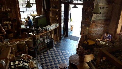 De Schoone Bakkerij - Stellenbosch - one of the most beautiful coffee shops in South Africa.