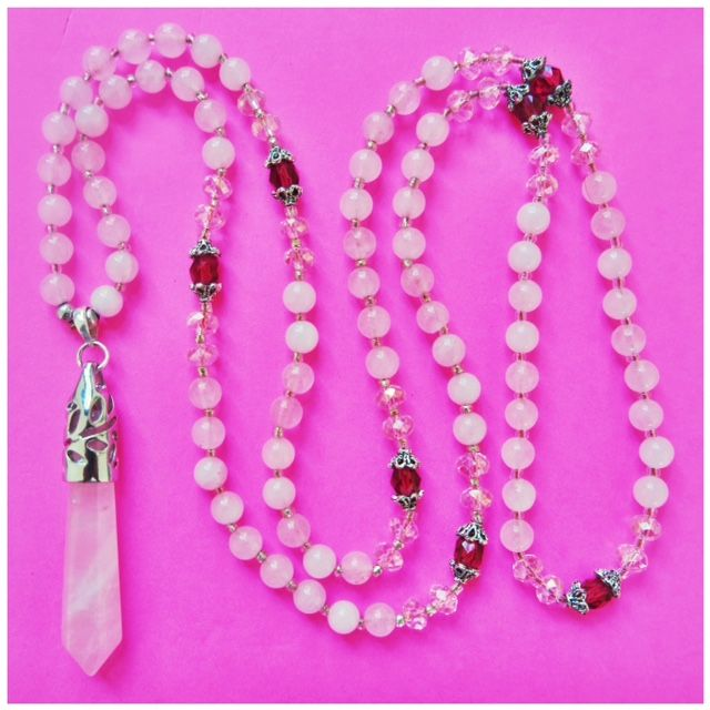 LOVE!LOVE!LOVE! Rose quartz is the stone of love, opening the heart chakra to bring an abundance of love to the wearer, romantic, plutonic, family & friendship & unconditional. This is a very powerful stone that can bring love & serenity. http://misssallysmith.com/?page_id=664