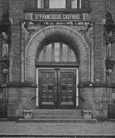Sint Franciscus Gasthuis - ziekenhuis Rotterdam - Toegangspoort Schiekade