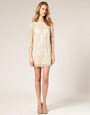 1000  ideas about Cream Lace Dresses on Pinterest - Rustic flower ...