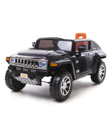 This Black Hummer HX HL188 Ride-On is perfect! #zulilyfinds